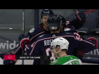 NHL 20/21, RS. Dallas Stars - Columbus Blue Jackets