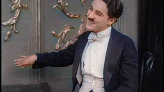 A Night in the Show (1915)   Charlie Chaplin    - color