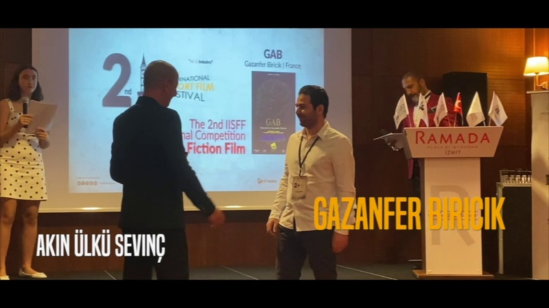 Izmit International Short Film Festival GAB winner best Sci Fi in 2019 Gazanfer BIRICIK ™