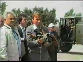 Испытания БТС-002. (Самолет-Аналог БУРАНа). 1986