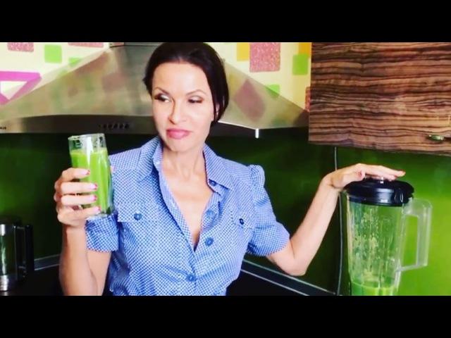 Каждый человек должен следить за своим здоровьем и я не исключение поэтому сегодня я готовила зеленый смузи помог мне в этом мой новый помощник на кухне высокоскоростной блендер Moulinex LM935