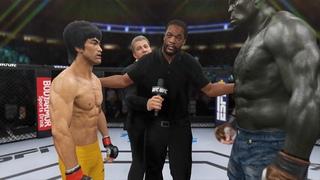 Bruce Lee vs. Incredible Hulk - EA Sports UFC 4 - Epic Fight 🔥🐲