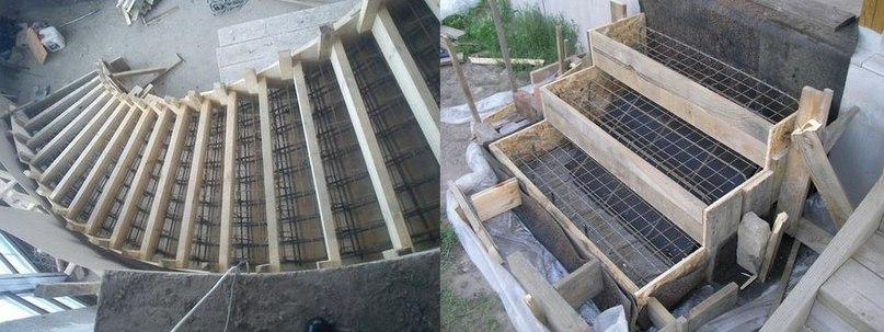 Советы по изготовлению бетонной лестницы, изображение №6