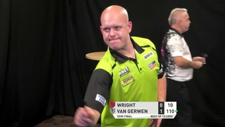 Wright v Van Gerwen - Semi Final - PDC Autumn Series Day One