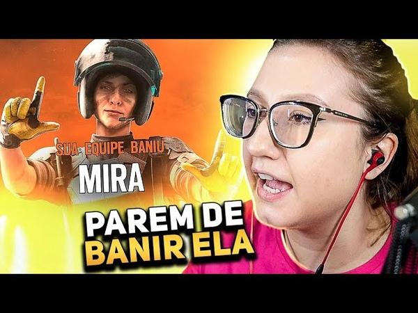 PAREM DE BANIR A MIRA RAINBOW SIX SIEGE