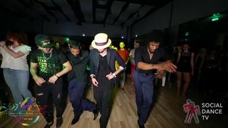 Eddie Torres Jr. , Terry , Fadi , Srini - Animation   4th World Stars Salsa Festival