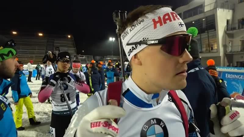 Биатлон Кубок Мира 2019 2020 Этап 7 Нове Место Мужской спринт Спринт мужчины 10 км 06 03 2020 Евровижн