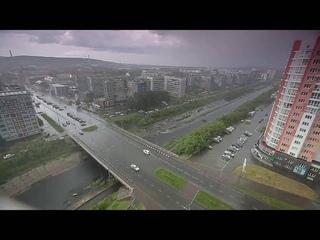 Новокузнецк. Дождь 14 июня 2016