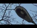Редкий уличный фонарь ORZ-7 Mesko с лампой ДРЛ
