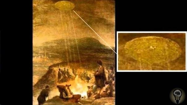 Изображение НЛО в древнем искусстве