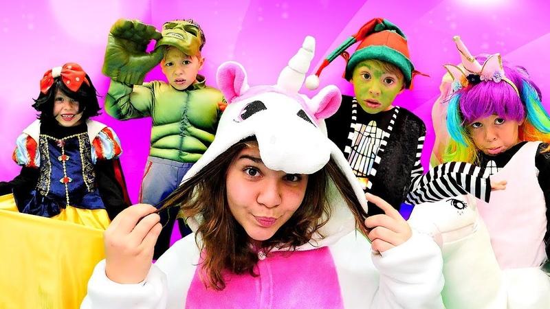 Hulk mı Unicorn mu yoksa Pamuk Prenses mı Yılbaşı partisi için kostüm seçiyoruz