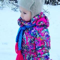 """Vira Kholodon on Instagram: """"Наш снежный ангел 👼"""""""