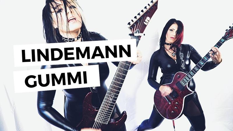 Lindemann Gummi Guitar Cover feat ELYLVA 4K *FUNNY SPECIAL*