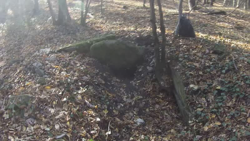 дольмен водораздел Монашеской и Ольховой щелей село Михайловский перевал Геленджикский район