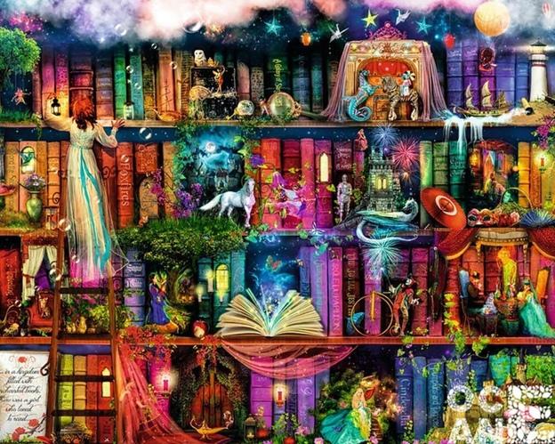 Книгопоказ «Фантастическая страна на книжной полке», изображение №1