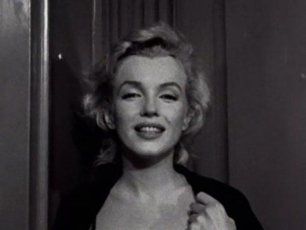 Marilyn Monroe RARE Press conference Footage Outside Her apartment June 21 1956
