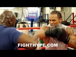 🦁ANTHONY YARDE🦁 BLOWING UP MITTS WITH SERIOUS POWER; INTENSE TRAINING