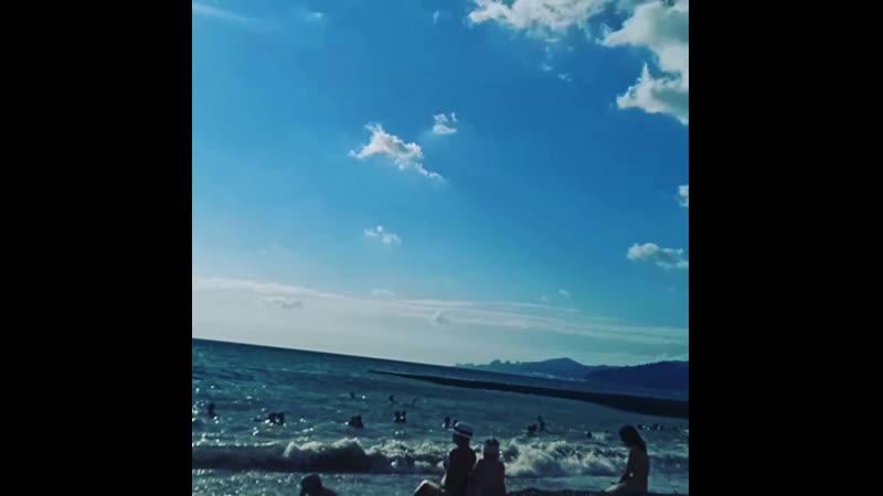 Чёрное море. Адлер. Сочи