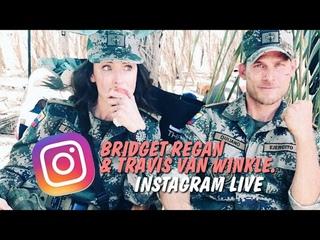 Bridget Regan & Travis Van Winkle, Instagram Live: April 19