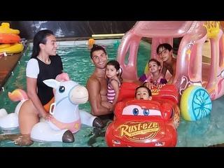 CRISTIANO RONALDO BEAUTIFUL HAPPY FAMILY !!! GEORGINA RODRIGUEZ , CRISTIANO JR , ALANA , MATEO & EVA