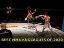 BEST MMA KNOCKOUTS OF 2020 boss mma