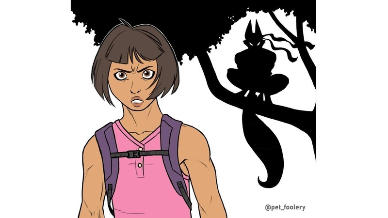 Даша путешественница Dora the Explorer Комикс Озвучка 12