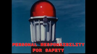 """1960's PACIFIC TELEPHONE EMPLOYEE TRAINING FILM """"PERSONAL RESPONSIBILITY FOR SAFETY"""" 87254"""