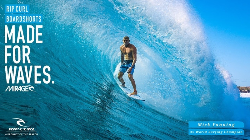 Mick Fanning Mirage React Ultimate Boardshorts by Rip Curl