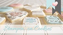Stampin' on Cookies Using Stampin' Up Products
