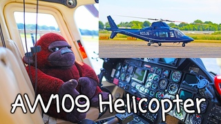 Agusta AW109 Detailed helicopter review startup flight