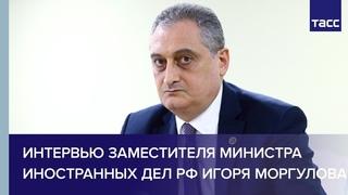 Открытое интервью заместителя министра иностранных дел РФ Игоря Моргулова