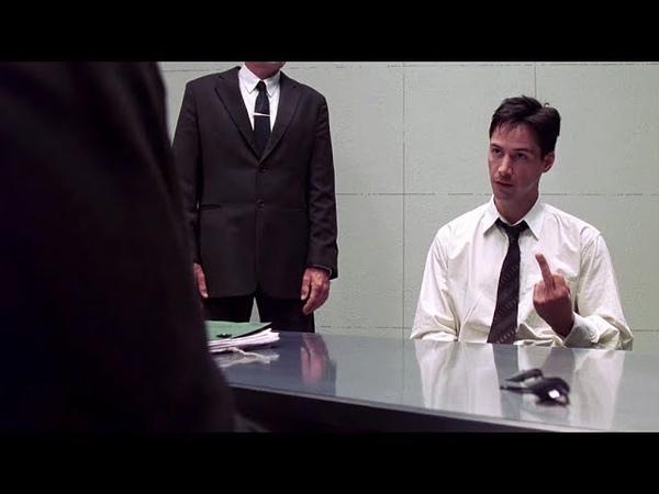 Interrogation of Mr Anderson The Matrix Open Matte