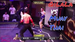 Epic Wing Chun vs Muay Thai Clash - Qi La La vs Ronin