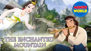 ENCHANTED MOUNTAIN full movie | cartoon for kids | fairy tail for children | Woodman and the Fairy