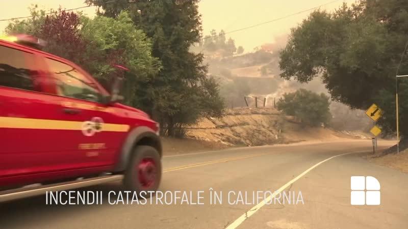 Incendii puternice în California Lady Gaga Kim Kardashian şi alte vedete evacuate de urgenţă