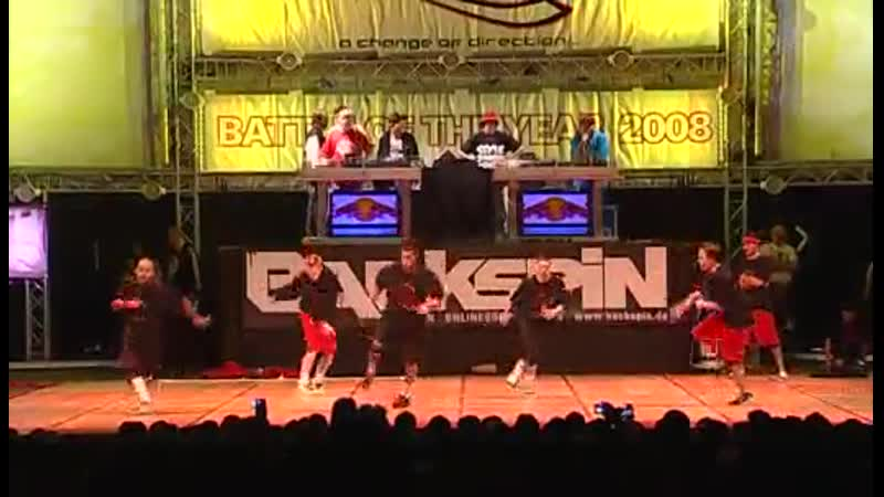 Battle Of The Year 2008 (BOTY) CD1