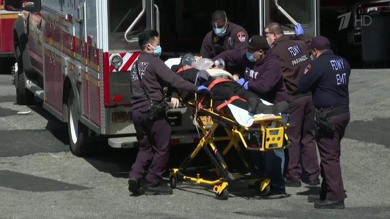 В терпящем бедствие Нью Йорке от коронавируса умирают каждые 17 минут