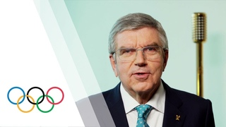 Президент МОК Томас Бах подводит итоги 2020 и говорит о 2021 годе