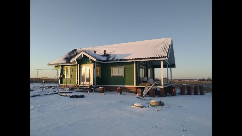 Дом со вторым светом и винтовой лестницей