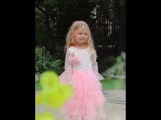 Летнее платье до щиколотки для девочек белое принцессы с открытой спиной подростков 2020