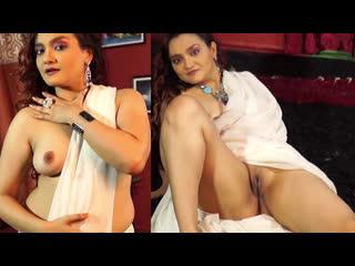 Dolon - White Saree Nude - iEntertainment