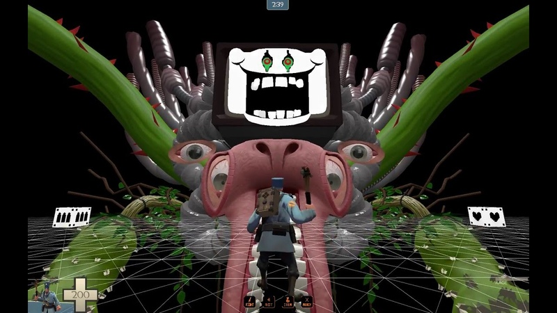 My_world_x6_beta2 (TF2 Omega Flowey Boss Fight) Single Player