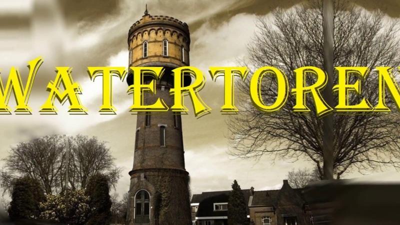 Tower 1905 Water Toren in Woerden Rijksmonumenten Башня