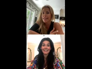 IG Live with Angie Harmon