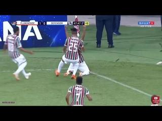 GOL OLÍMPICO SORNOZA - Fluminense 2x0 Defensor - Sul americana 2018
