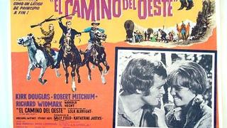 CAMINO DEL OESTE (1967) de Andrew V McLaglen con Kirk Douglas, Robert Mitchum, Richard Widmark, Lola Albright by Refasi