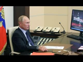 Путин на встрече с избранными губернаторами