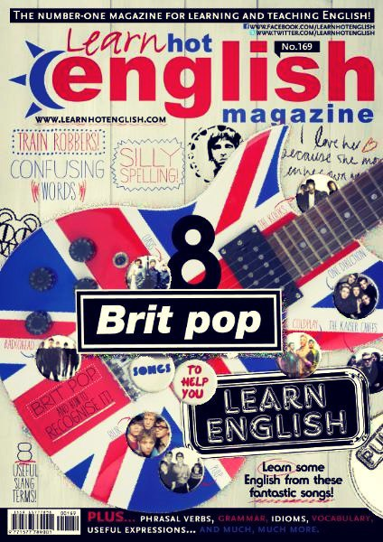 Learn Hot English (June 2016) pdf + CD!