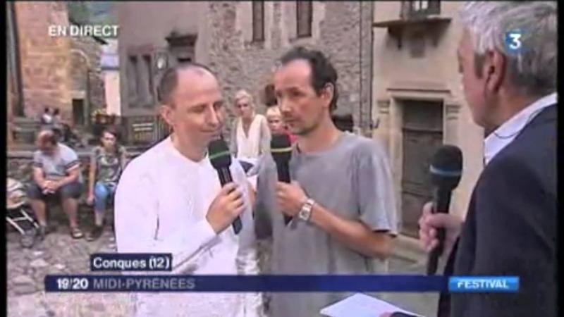 Le Chœur de Crimée à Conques Le Reportage France 3