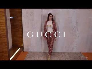 Новая коллекция Gucci // Спортивный женский образ // Фирменный бутик в Лакшери Store // Тренды 2020